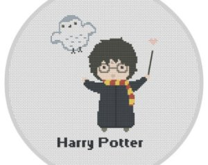 Calling All Wizards, Lookout For Harry Potter Cross Stitch Kits