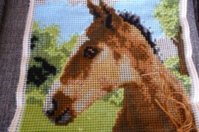 Two Extremes of Cross Stitch