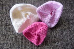 My Crocheted Knockers