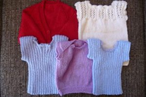 The First Batch Of Baby Knitting
